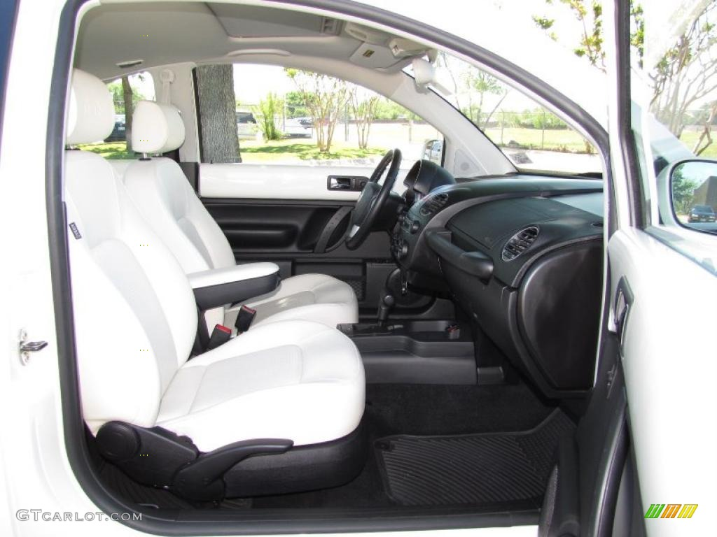 White Interior 2008 Volkswagen New Beetle Triple White Coupe Photo 48014149