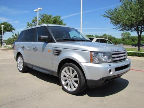 2008 Land Rover Range Rover Sport Supercharged Data Info