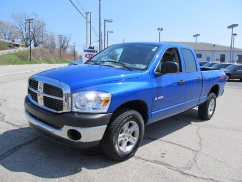 2008 Dodge Ram 1500 TRX4 Quad Cab 4x4 Data, Info and Specs