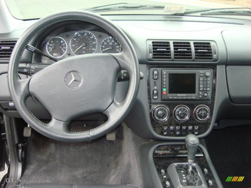 2002 mercedes benz 4matic for Mercedes benz dashboard