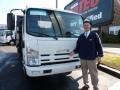 White 2009 Isuzu N Series Truck NPR