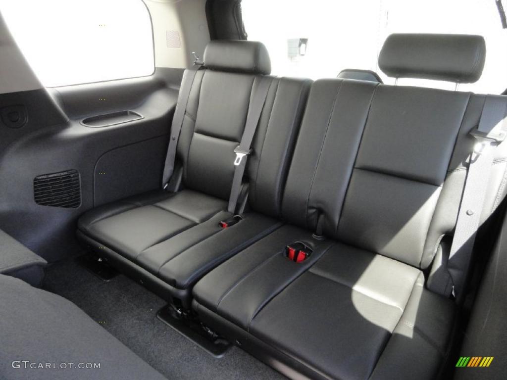 Ebony Ebony Interior 2011 Cadillac Escalade Hybrid Awd Photo 48042179