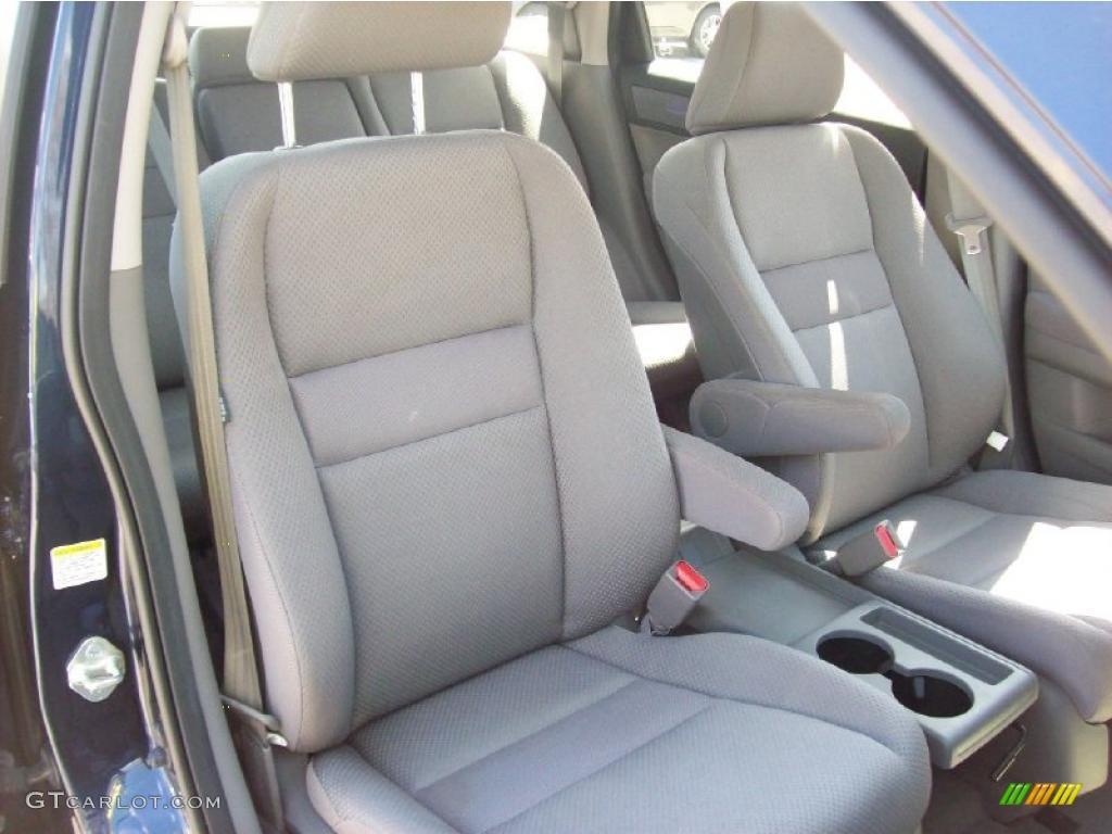 2008 CR-V LX 4WD - Royal Blue Pearl / Gray photo #13