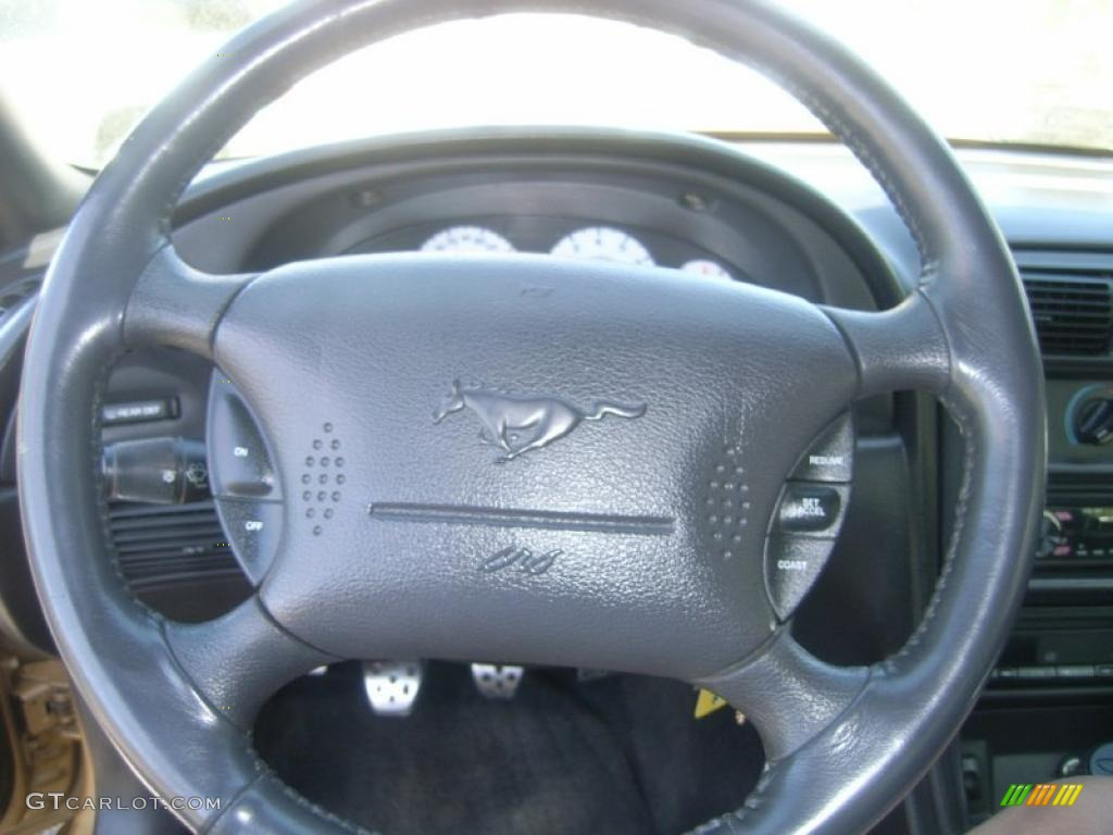 2000 Ford Mustang Gt Coupe Dark Charcoal Steering Wheel