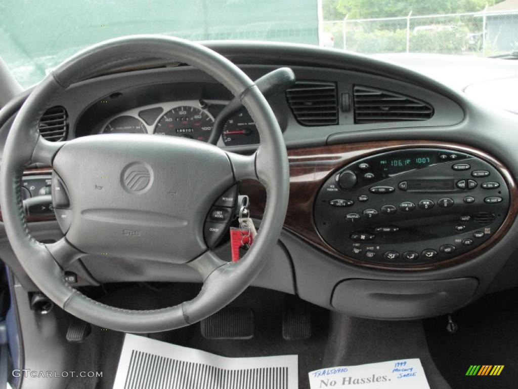 1999 Mercury Sable Ls Sedan Medium Graphite Dashboard
