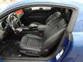 Black 2006 Ford Mustang GT Premium Coupe Interior Color