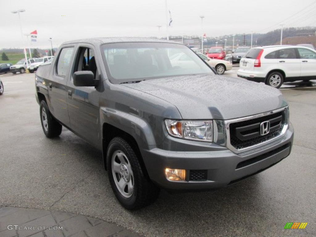 sterling gray metallic 2009 honda ridgeline rt exterior. Black Bedroom Furniture Sets. Home Design Ideas