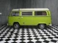 Light Green 1974 Volkswagen Bus T2 Camper Van