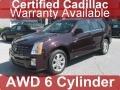 Black Cherry 2008 Cadillac SRX 4 V6 AWD