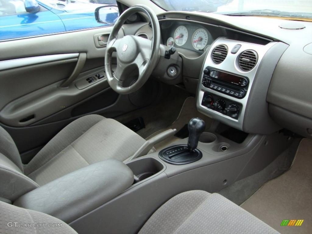 Taupe Interior 2005 Dodge Stratus R T Coupe Photo