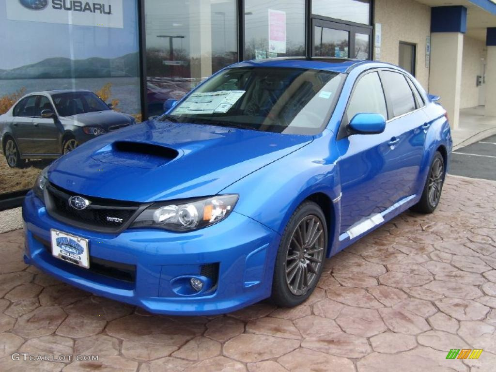 2011 wr blue mica subaru impreza wrx sedan 48025371 car color galleries. Black Bedroom Furniture Sets. Home Design Ideas