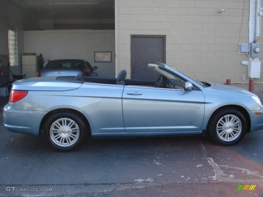 2009 Clearwater Blue Pearl Chrysler Sebring Touring