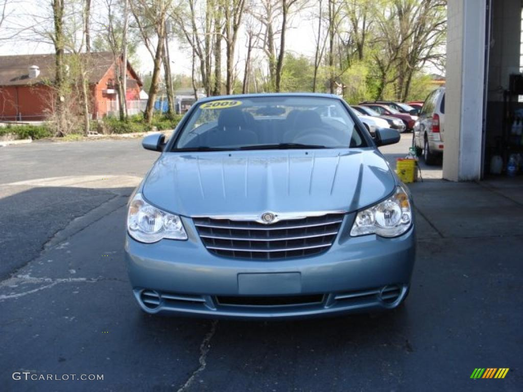 Blue Pearl Clearwater >> 2009 Clearwater Blue Pearl Chrysler Sebring Touring Convertible