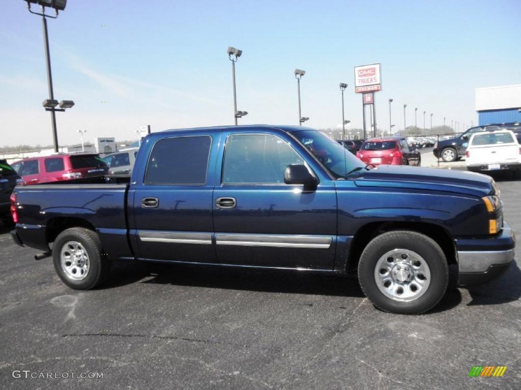 Chevy Vin Decoder >> 2007 Dark Blue Metallic Chevrolet Silverado 1500 Classic LS Crew Cab #48026406 | GTCarLot.com ...