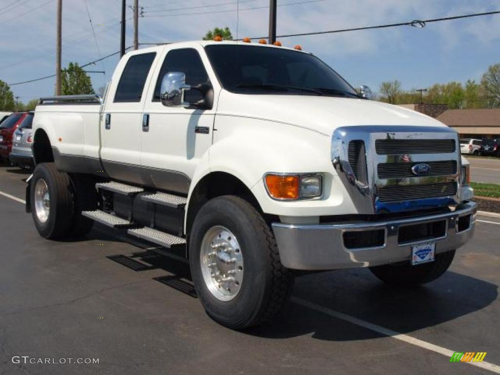 oxford white 2008 ford f650 super duty xlt crew cab. Black Bedroom Furniture Sets. Home Design Ideas