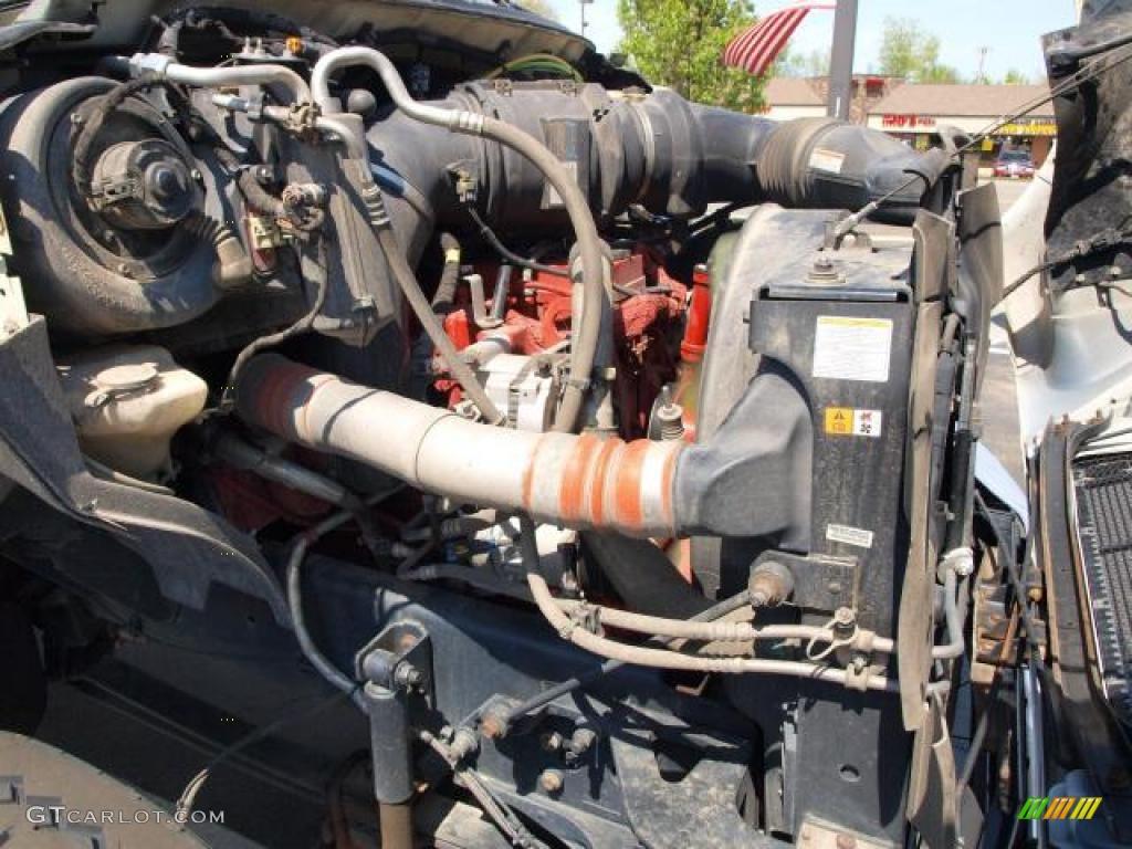 2008 Ford F650 Super Duty Xlt Crew Cab Engine Photos