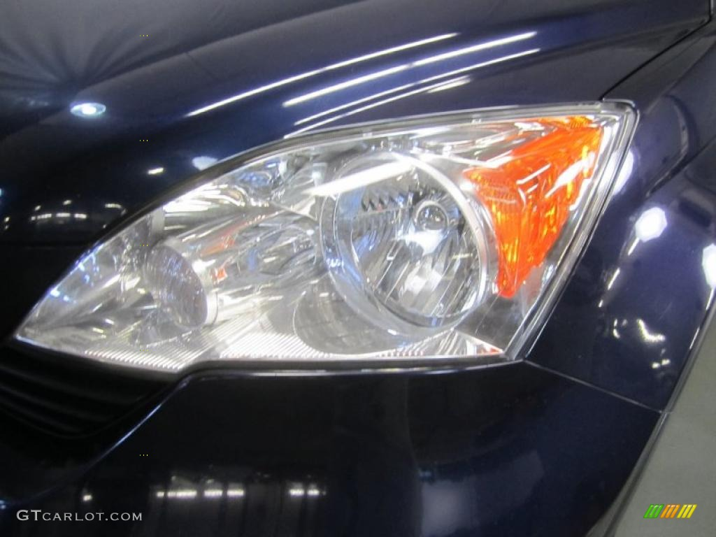 2008 CR-V LX 4WD - Royal Blue Pearl / Gray photo #4
