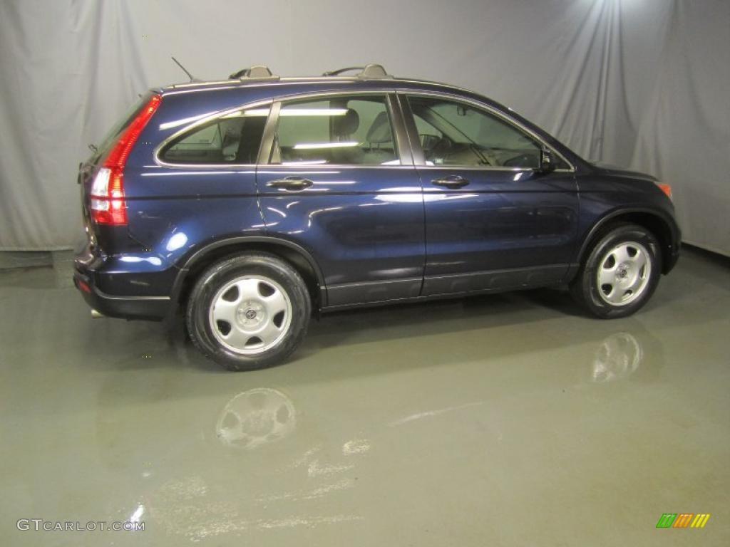 2008 CR-V LX 4WD - Royal Blue Pearl / Gray photo #11