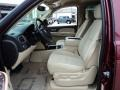 Ebony/Light Cashmere 2008 Chevrolet Avalanche Interiors