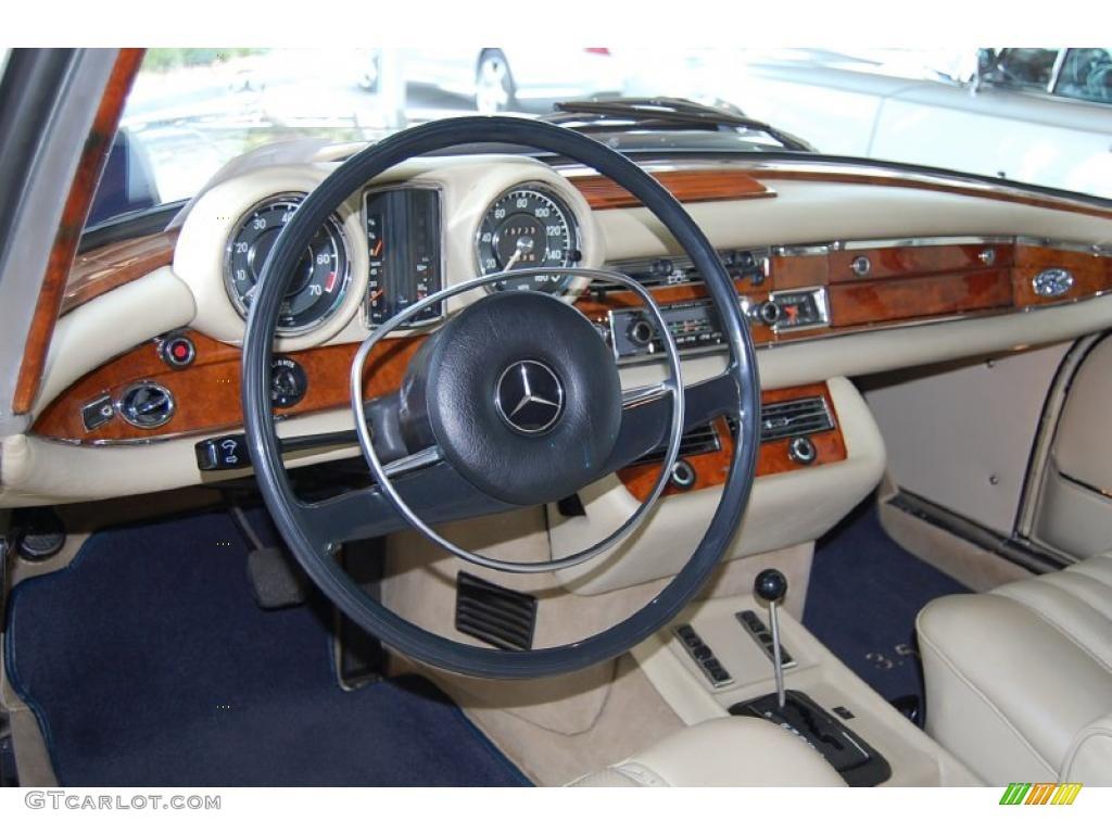 Tan Interior 1971 Mercedes-Benz S Class 280SE 3.5 ...