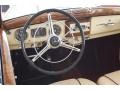1953 220 Cabriolet Light Beige/Dark Red Piping Interior
