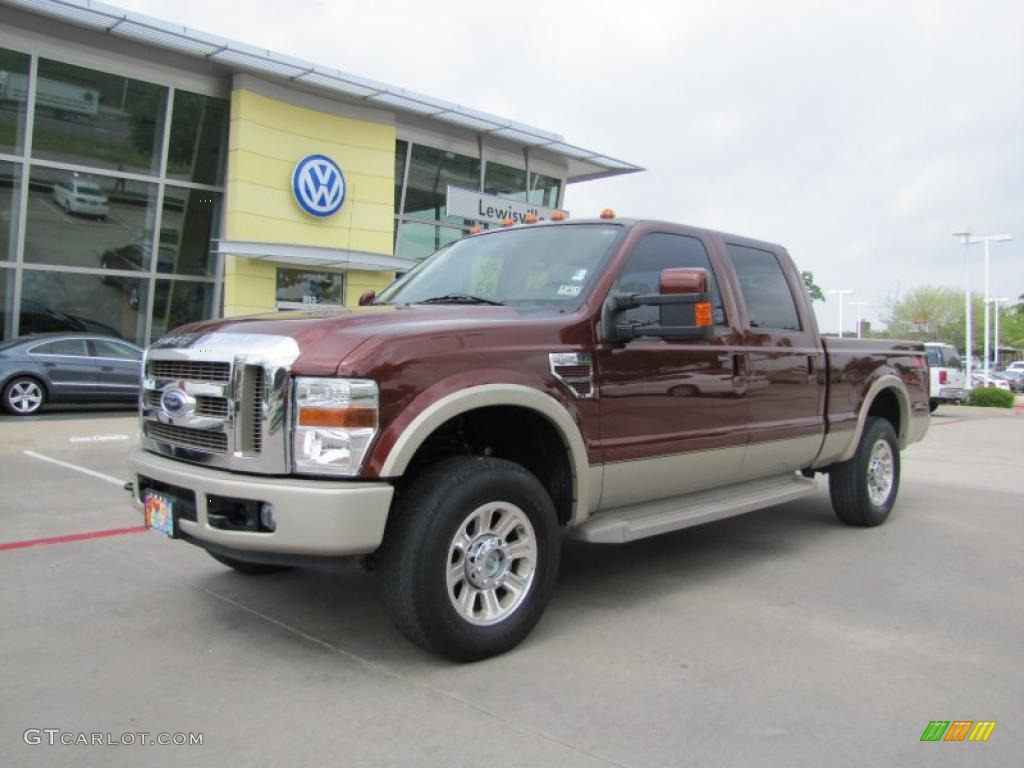 2008 Dark Copper Metallic Ford F250 Super Duty King Ranch Crew Cab 4x4 48099887