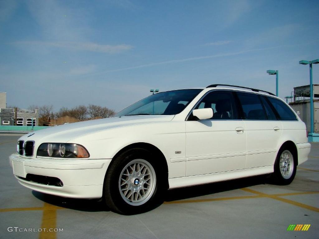 Alpine White 2002 Bmw 5 Series 525i Wagon Exterior Photo 48105855