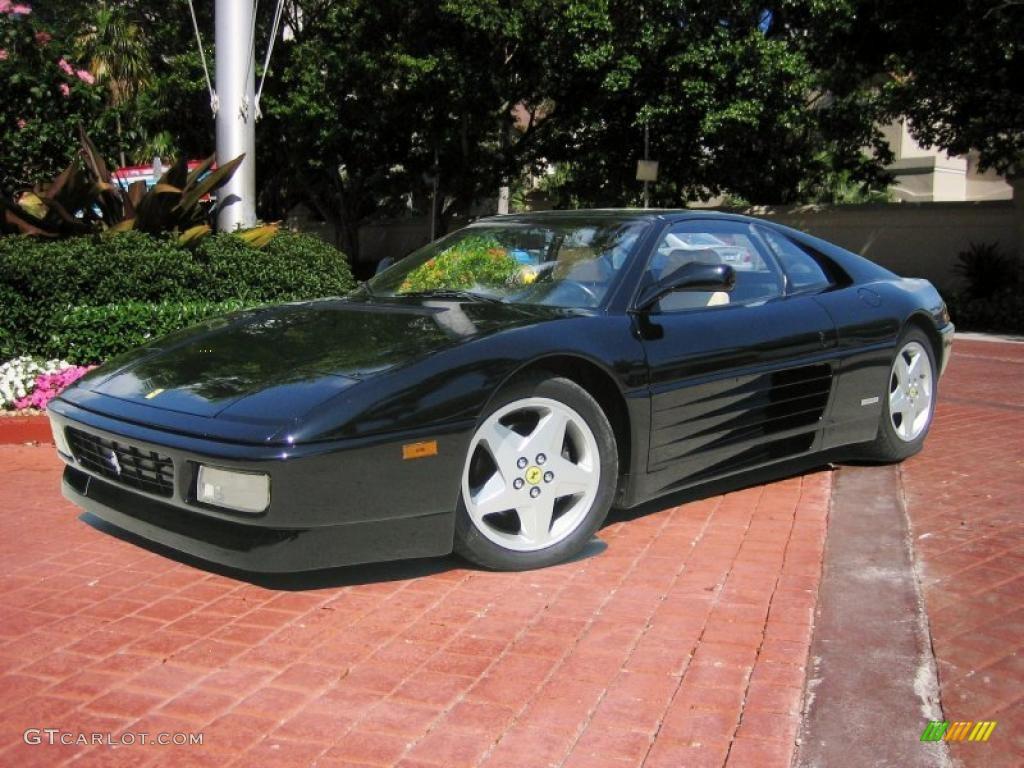 Black 1991 Ferrari 348 TS Exterior Photo #48109464