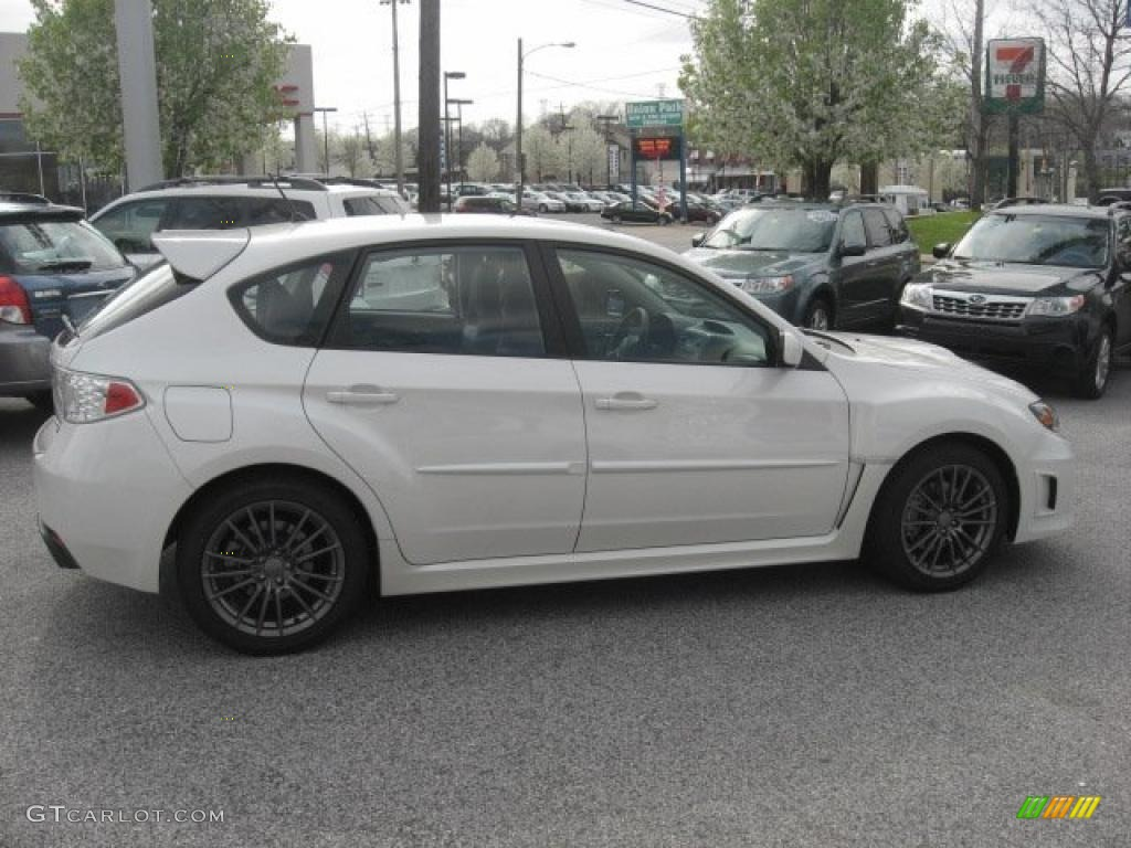 Satin White Pearl 2011 Subaru Impreza Wrx Limited Wagon
