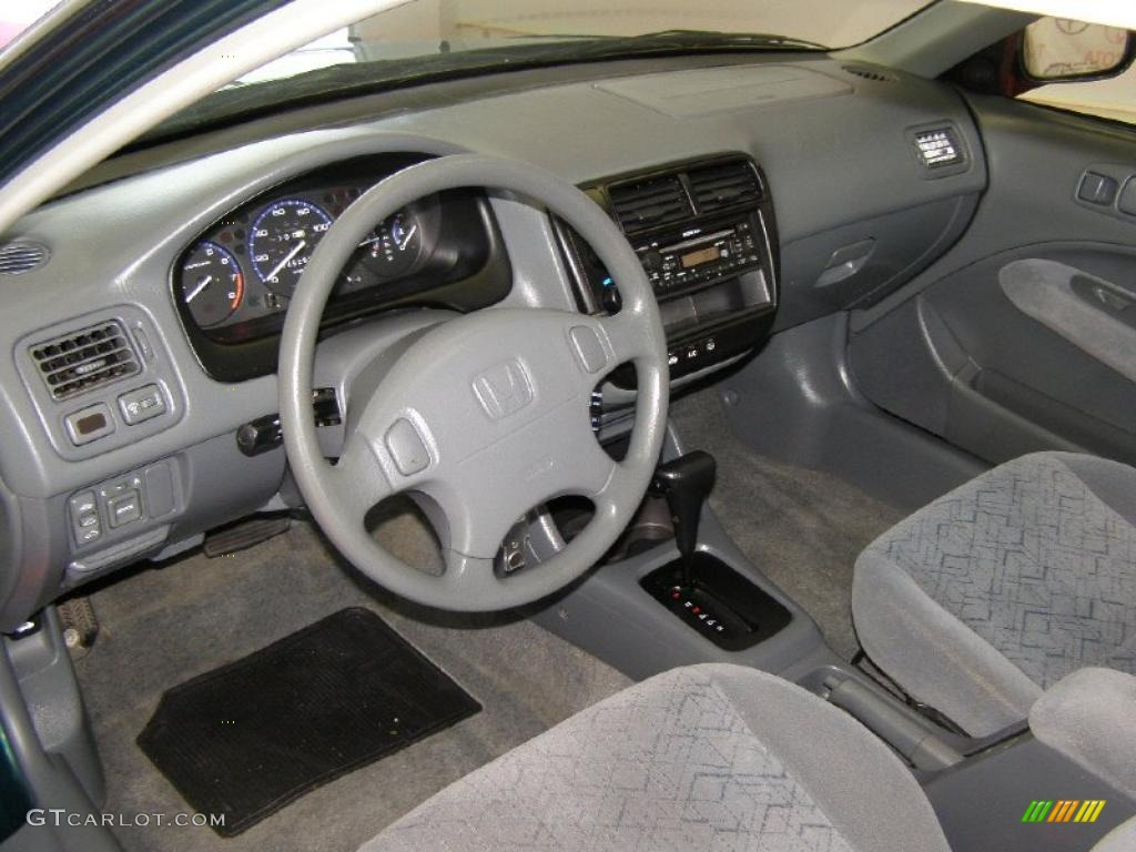 Gray Interior 2000 Honda Civic Ex Coupe Photo 48121510