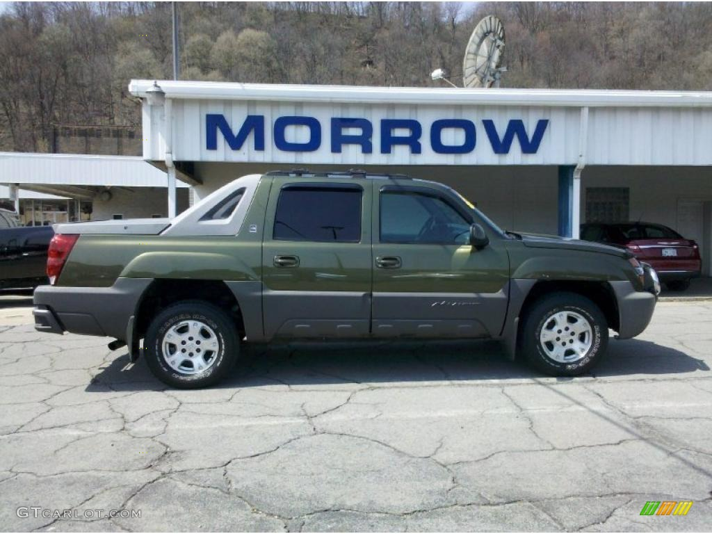 Medium sage green metallic chevrolet avalanche chevrolet avalanche the north face