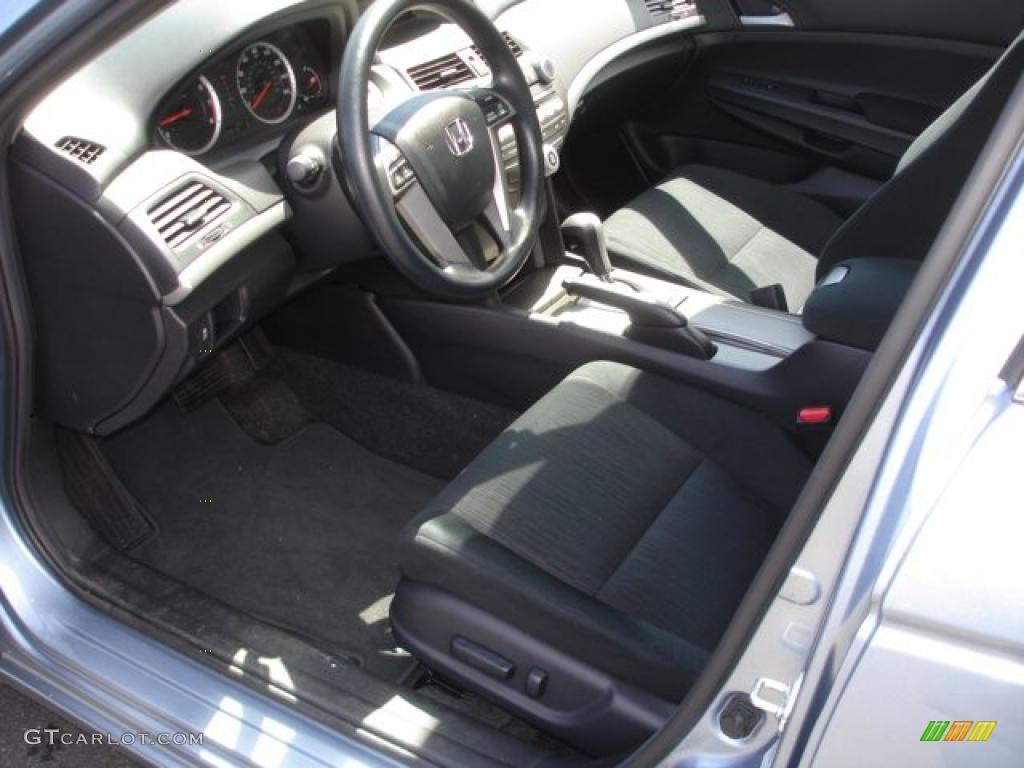 Black Interior 2011 Honda Accord Lx P Sedan Photo