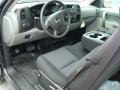 2011 Black Chevrolet Silverado 1500 Extended Cab  photo #4