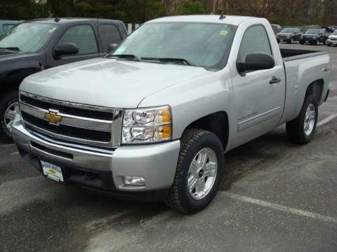2011 Chevrolet Silverado 1500 LT Regular Cab 4x4 Data, Info and Specs