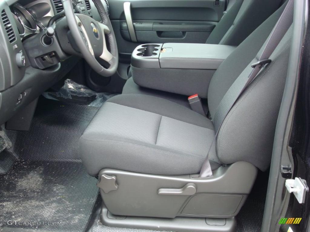 2011 Silverado 1500 LT Regular Cab 4x4 - Black / Ebony photo #3