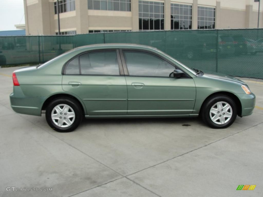 galapagos green 2003 honda civic lx sedan exterior photo 48134504. Black Bedroom Furniture Sets. Home Design Ideas