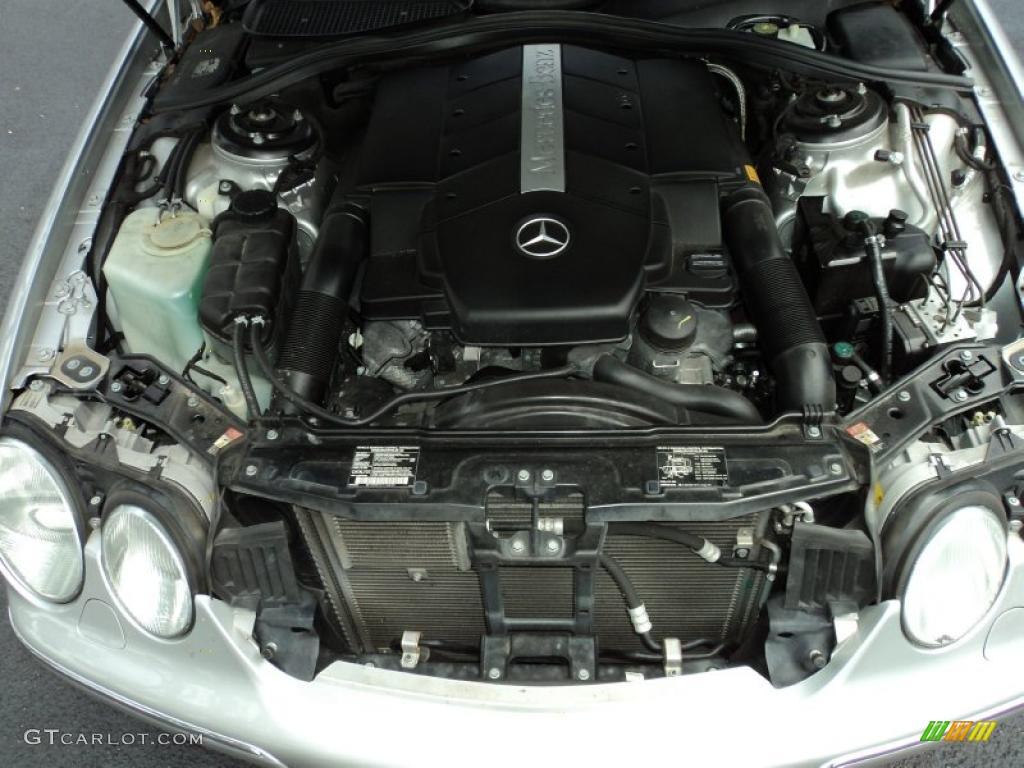 2001 mercedes benz cl 500 5 0 liter sohc 24 valve v8 for Mercedes benz v8 engine