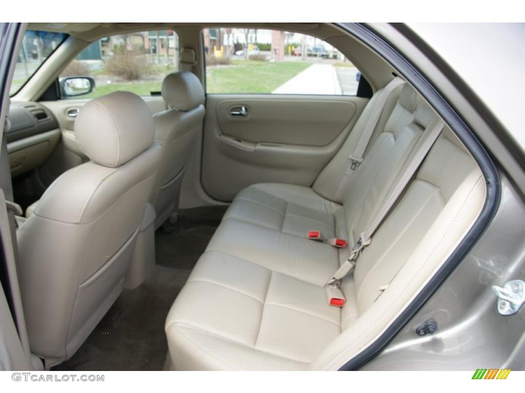 2002 mazda 626 interior