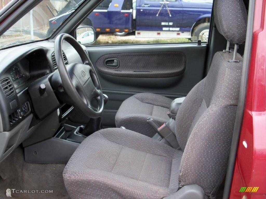 1999 kia sportage 4wd interior color photos