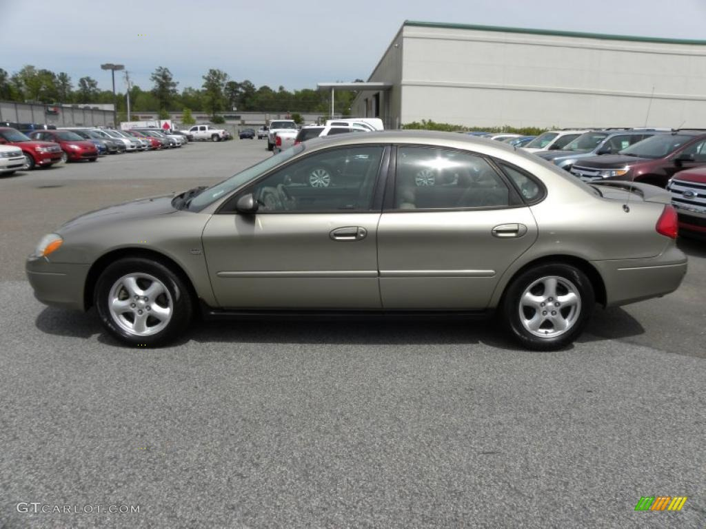 Arizona beige metallic 2003 ford taurus ses exterior photo 48151349