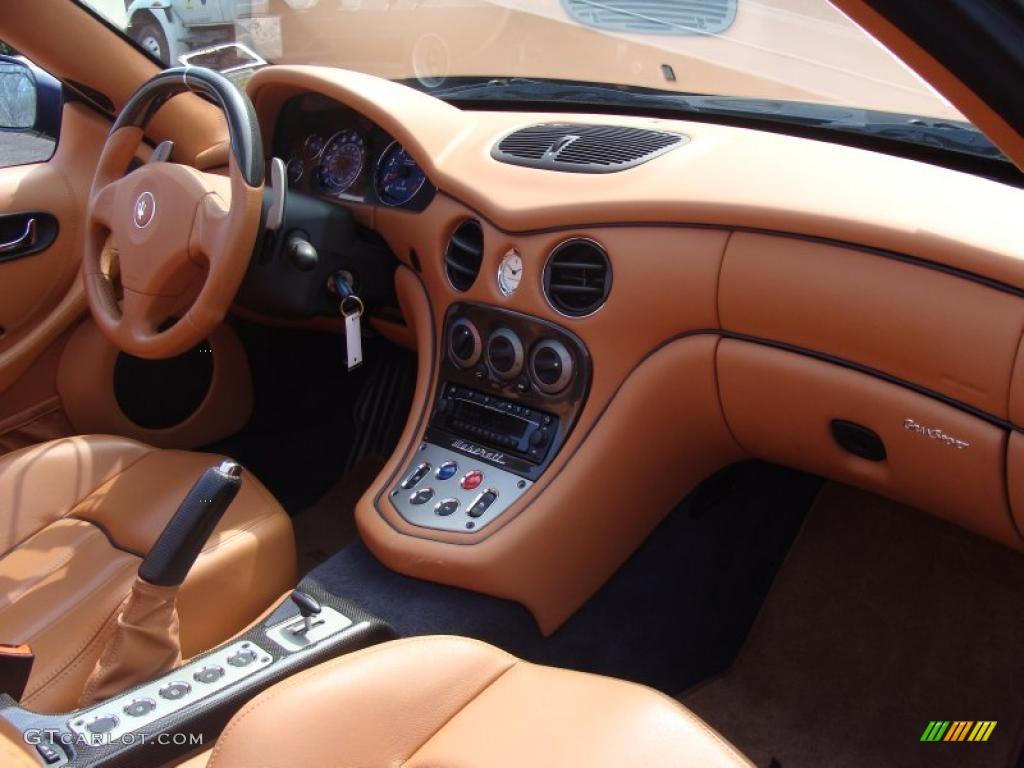 2006 Maserati Gransport Spyder Cuoio Saddle Dashboard