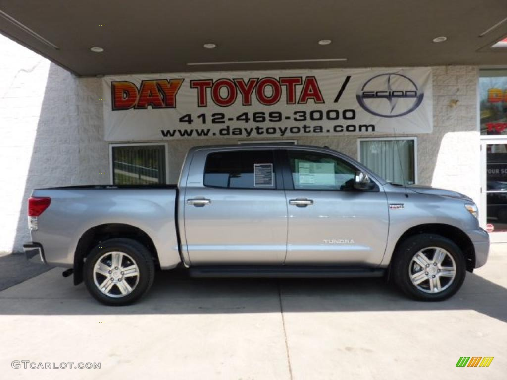 2011 Tundra Limited CrewMax 4x4 - Silver Sky Metallic / Sand Beige photo #1
