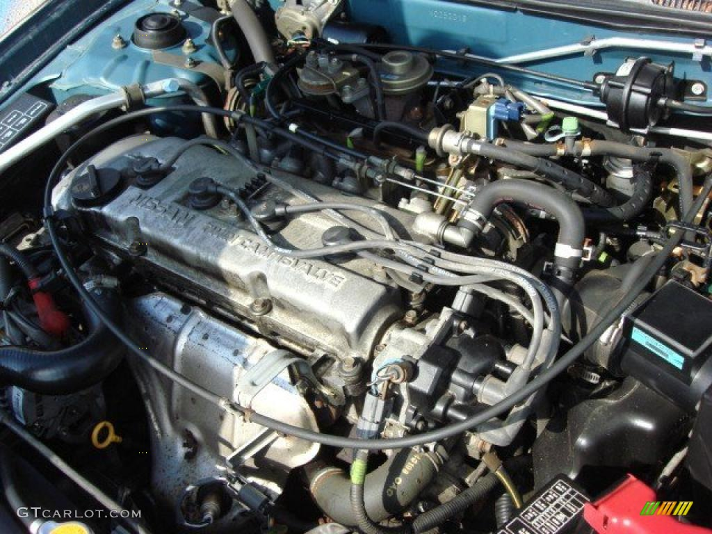 1998 Nissan Altima Xe 2 4 Liter Dohc 16 Valve 4 Cylinder