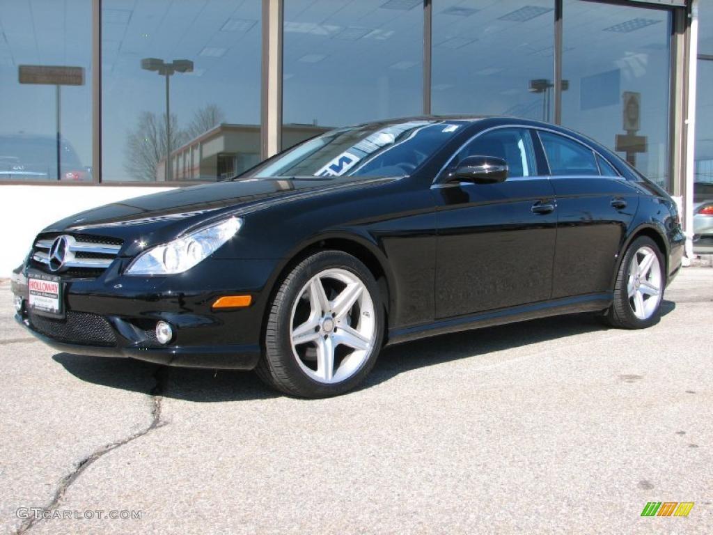 2010 Black Mercedes Benz Cls 550 48099814