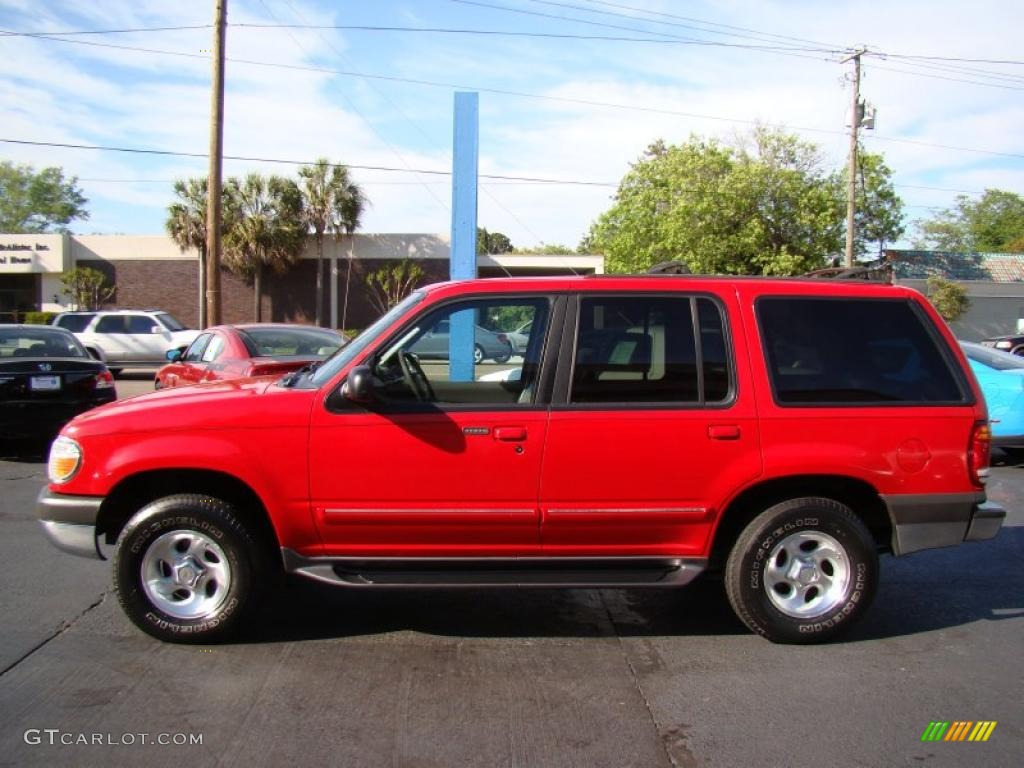 bright red clearcoat  ford explorer xlt  exterior photo  gtcarlotcom