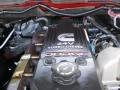 2007 Inferno Red Crystal Pearl Dodge Ram 3500 SLT Quad Cab 4x4 Dually  photo #10