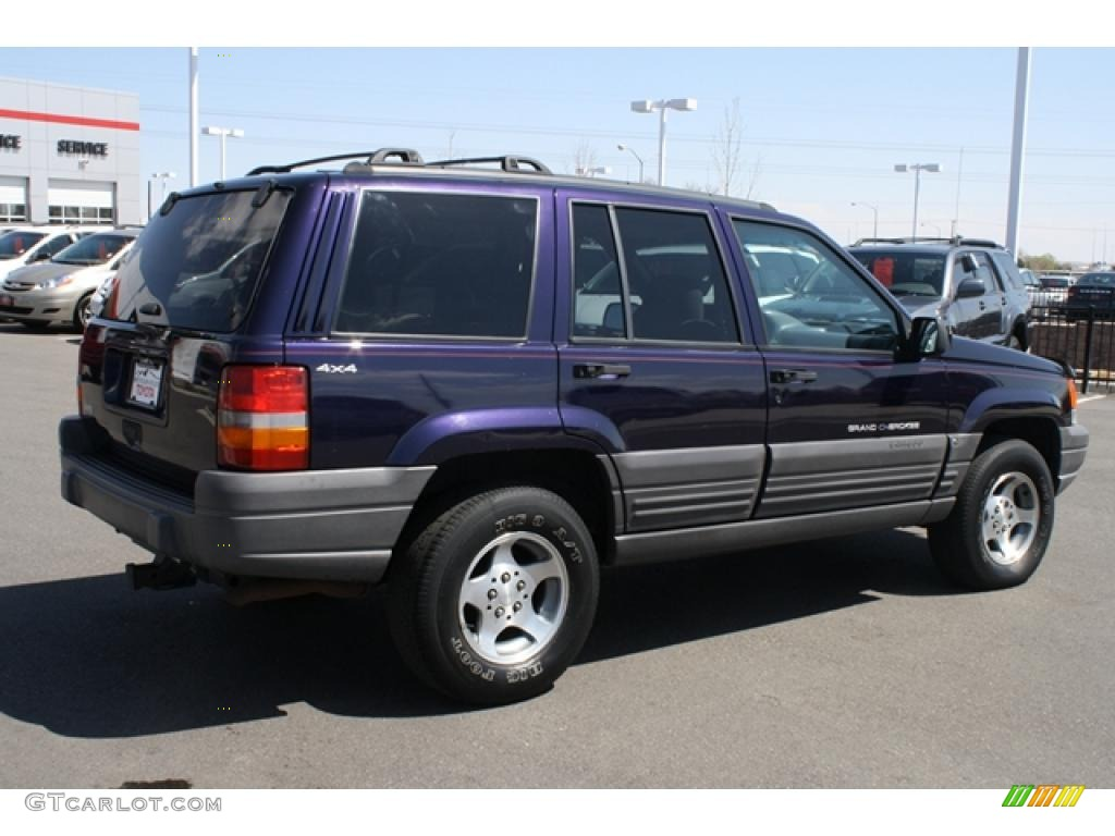 deep amethyst pearl 1997 jeep grand cherokee laredo 4x4 exterior photo 48168173. Black Bedroom Furniture Sets. Home Design Ideas