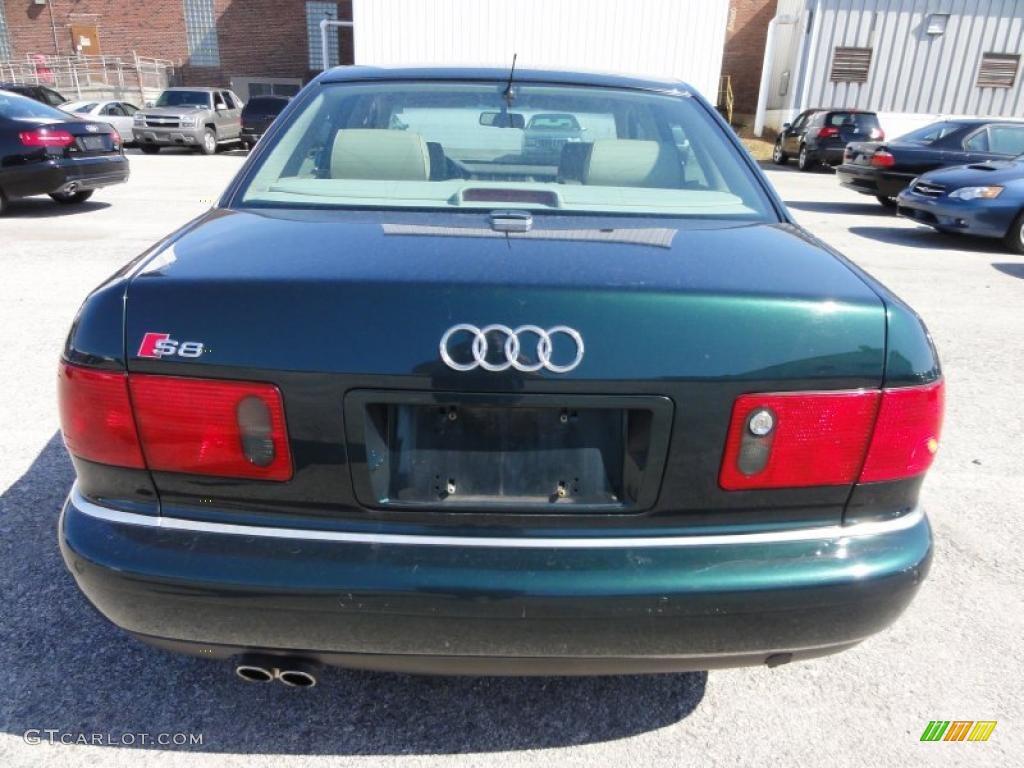 Racing Green 2001 Audi S8 4 2 Quattro Exterior Photo
