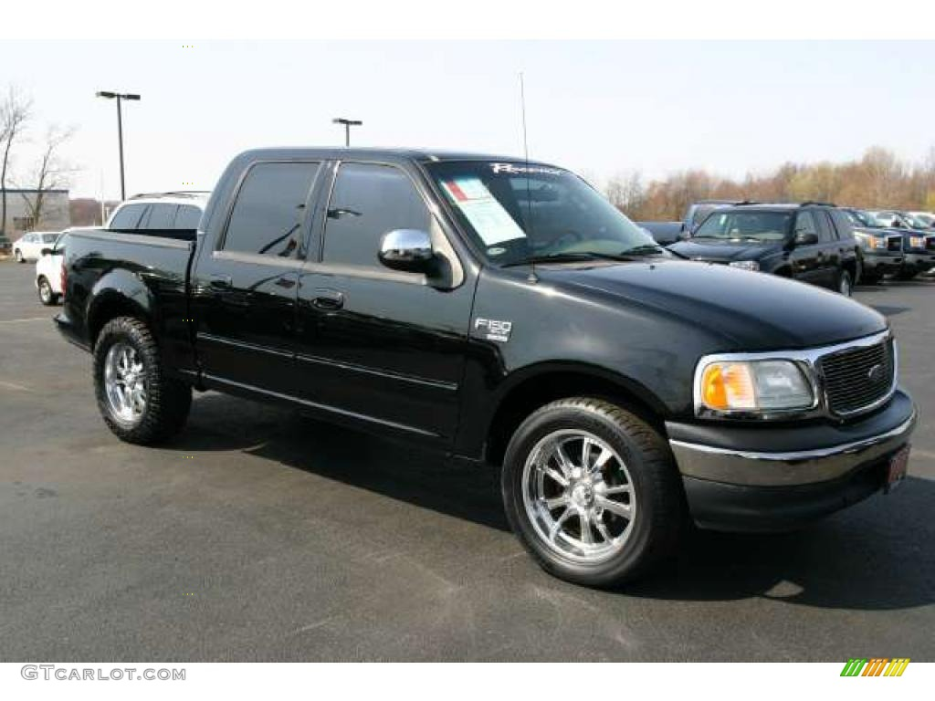 2002 black ford f150 xlt supercrew 48167970 gtcarlot. Black Bedroom Furniture Sets. Home Design Ideas