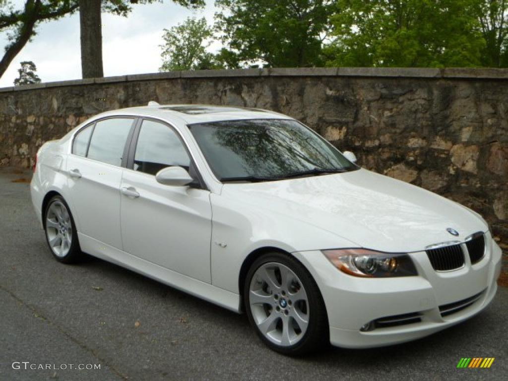 2007 Alpine White BMW 3 Series 335i Sedan #48167911 ...